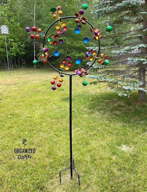 Photo of a garden spinner