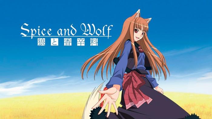 Spice and Wolf (Ookami to Koushinryou) anime