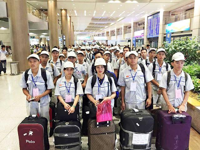 Hơn 54.000 lao động Việt Nam đi làm việc ở nước ngoài trong 5 tháng đầu năm 2019