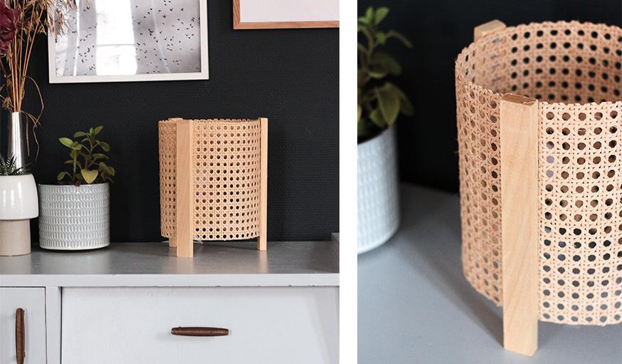 DIY con cannage o muebles de rejilla_2