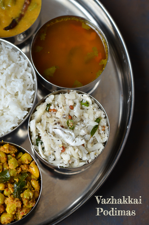 Garlic Thali / Festive Thali