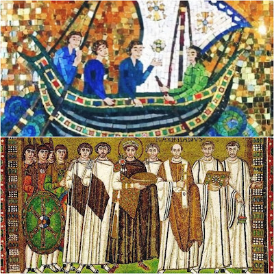 In Sailing to Byzantium we have a constructive picture of Ireland and Byzantium.