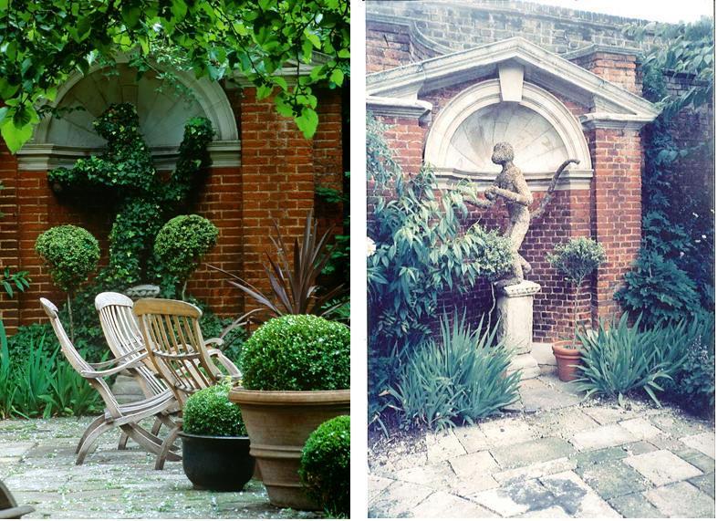 Garden Walk London: JOHN STEFANIDIS: GARDENS: Edwin Lutyens, 100 Cheyne Walk, London SW1