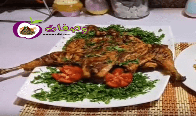 الفراخ المشويه فاطمه ابو حاتي
