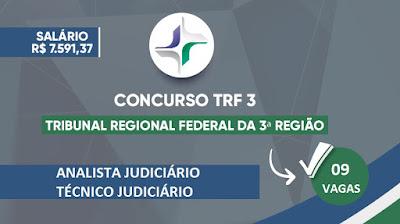 Concurso TRF 3ª Região (SP-MT)