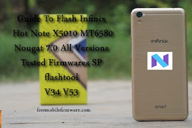 Flash Infinix Hot 4 X557 MT6580 Marshmallow 6 0 Tested Firmware