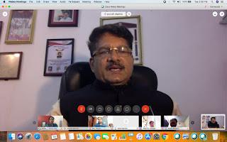 म.प्र. अभियोजन अधिकारियों की हुई ऑनलाईन समीक्षा बैठक