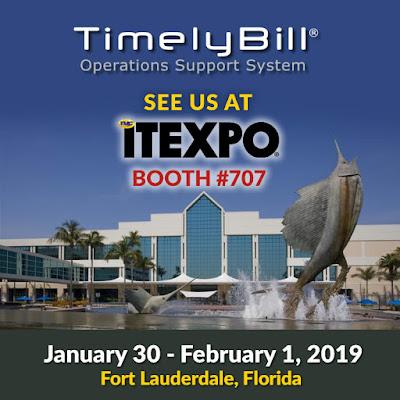 TimelyBill to Exhibit at ITEXPO Florida 2019