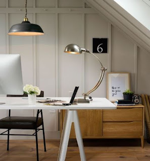Tricks Make Home Office Lighting More Effective