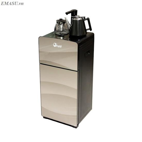 Cây nước nóng lạnh FujiE WD1170C kết hợp bàn pha trà, cafe bình âm Phù hợp cho mọi không gian