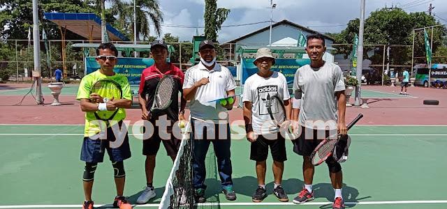 Noor Iman/Didik Juara Open Tournament Tennis Pegadaian Cup 2020