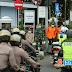 Polres Ciamis dan TNI Serentak Lakukan Penyemprotan Disinfektan di Wilayah Kab.Ciamis