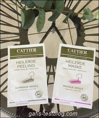 Heilerde Peeling und Maske von Cattier Paris