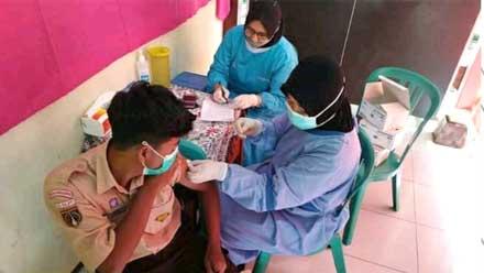 Pemkab Temanggung Vaksin Pelajar