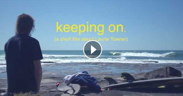 Keeping on - A short film about Laurie Towner