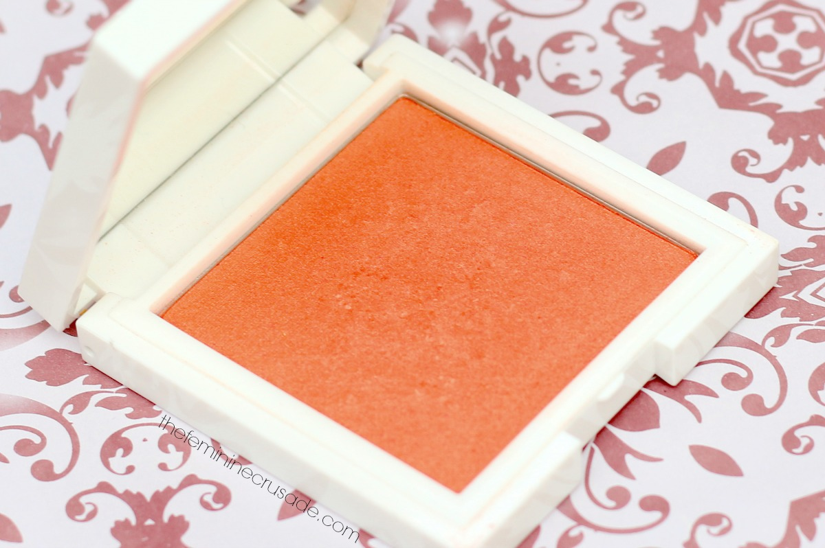 Korres Zea Mays Powder Blush in '44 Orange'