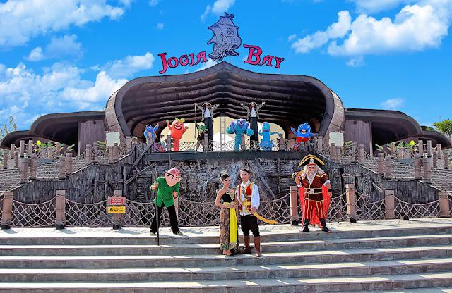 Tempat Wisata Keluarga Yogyakarta, Jogja Bay Waterpark
