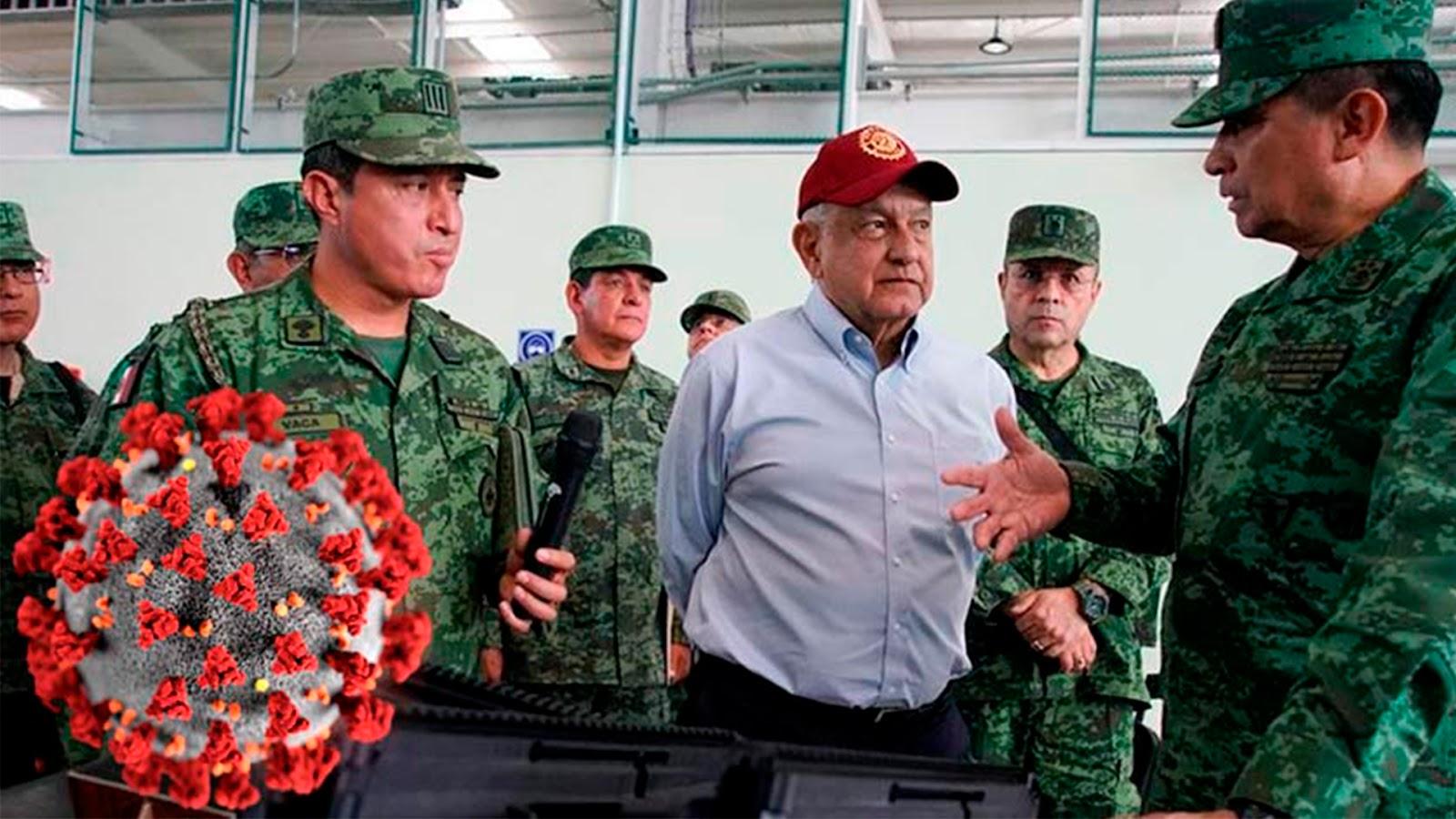 FASE 2: Por Coronavirus AMLO otorga al Ejército y la Marina el control de 10 nuevos hospitales