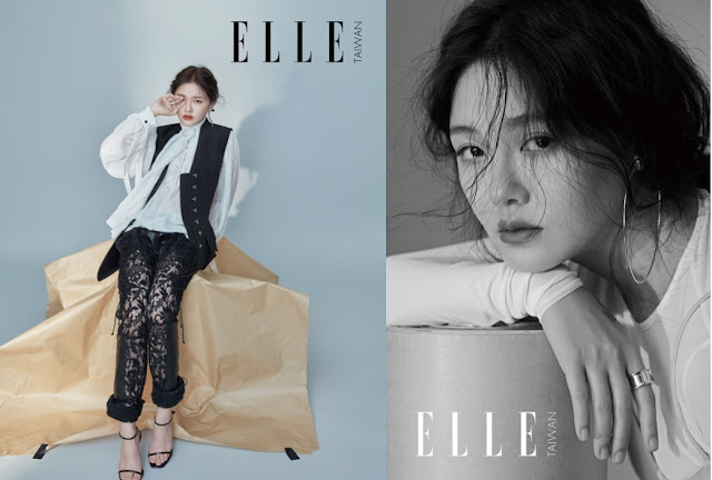 Barbie Hsu magazine editorial