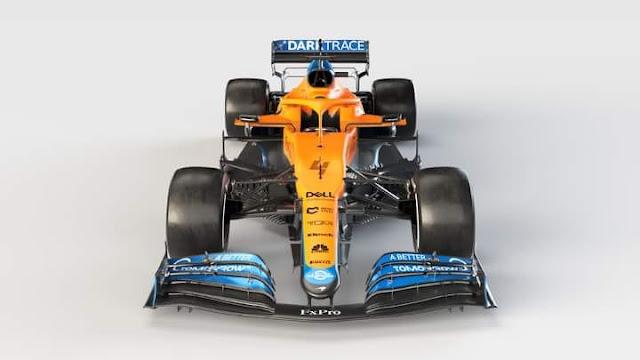 mobil balap F1 McLaren 2021