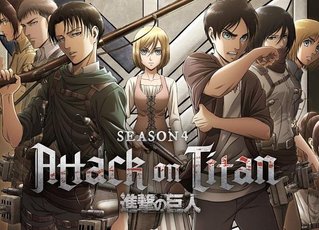 Download Attack on Titan Season 4 Dual Audio [English + Japanese] 720p + 1080p WEB-DL ESub