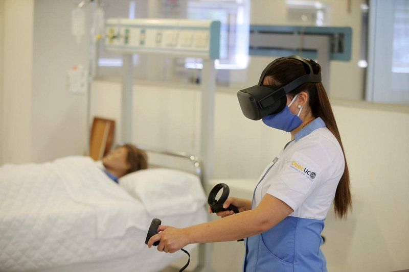 Duoc abre hospital virtual para que alumnos practiquen sin temor a equivocarse