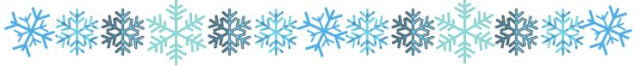 Snow Flake Pet Parade Divider ©BionicBasil®