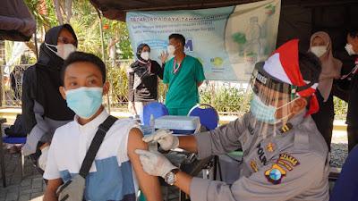 Serbuan Vaksinasi Merdeka Percepat Program Pemerintah Vaksinasi Nasional