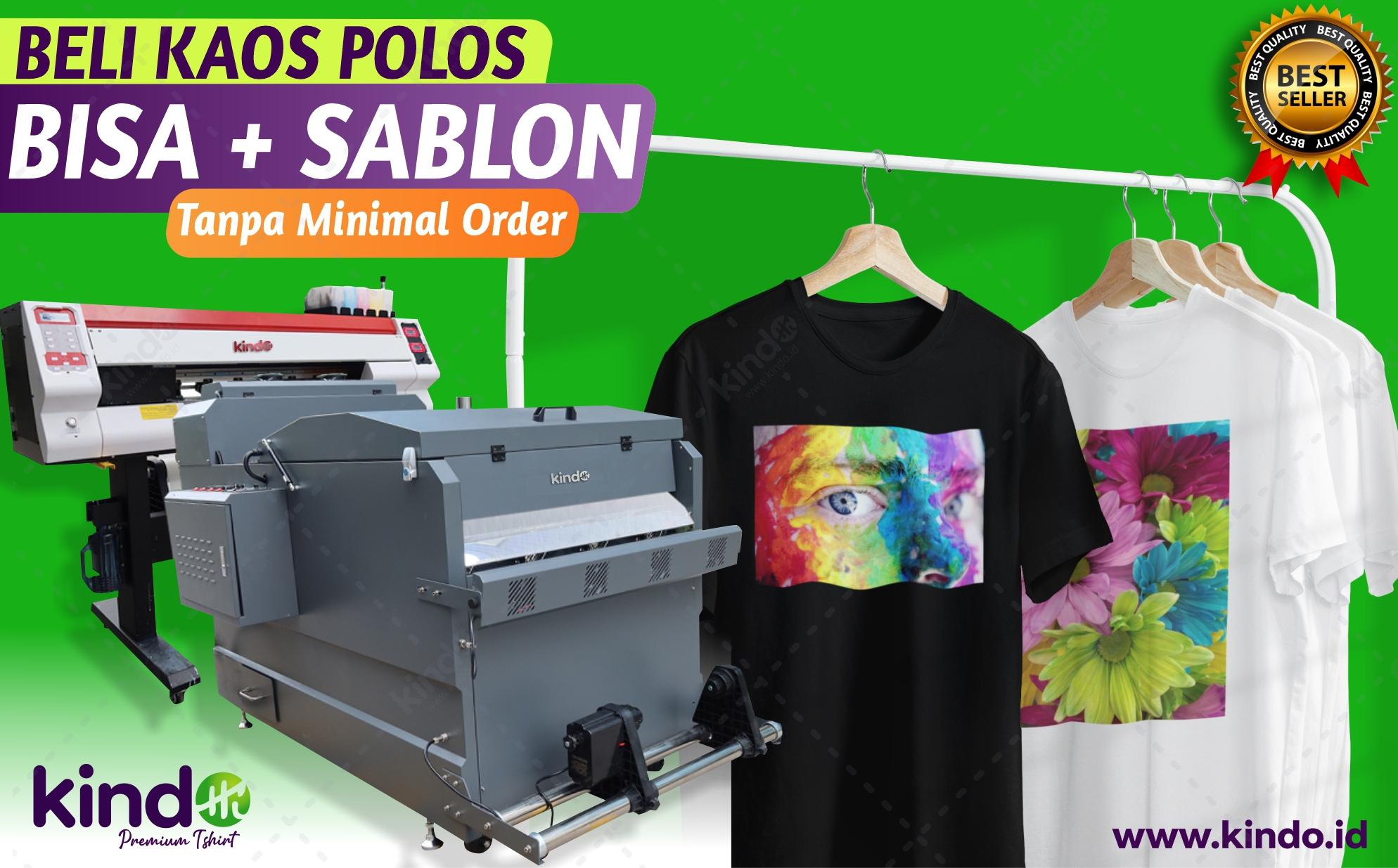 Jasa Sablon Kaos Online Proses Cepat 1 Hari Jadi