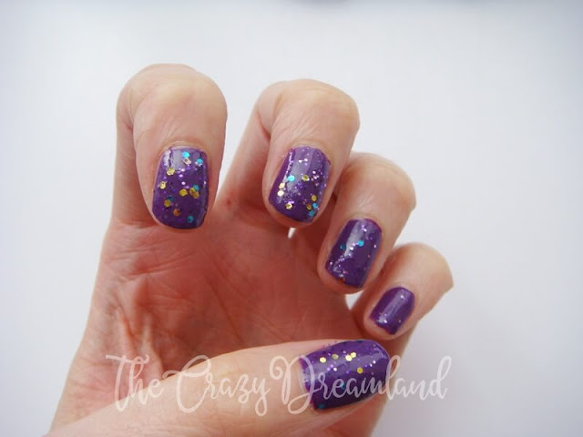 glitter-purple-nails