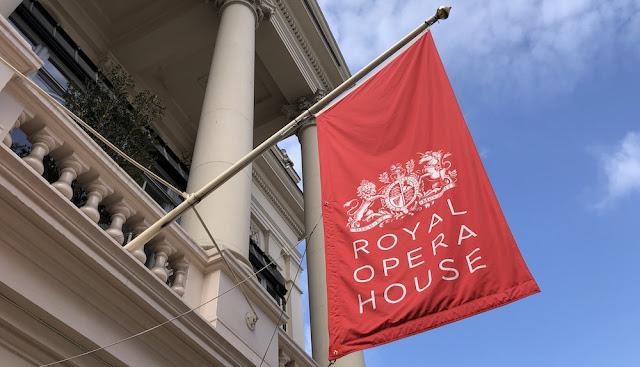 Fachada de la Royal Opera House