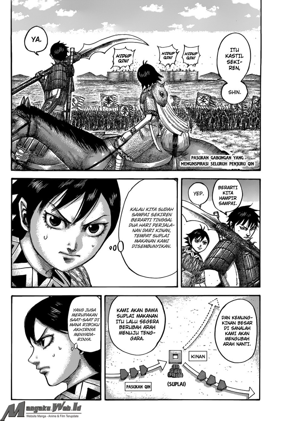 Baca Komik Manga Kingdom Chapter 501 Komik Station