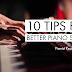 피아노 소리를 더 좋게 만드는 10가지 팁