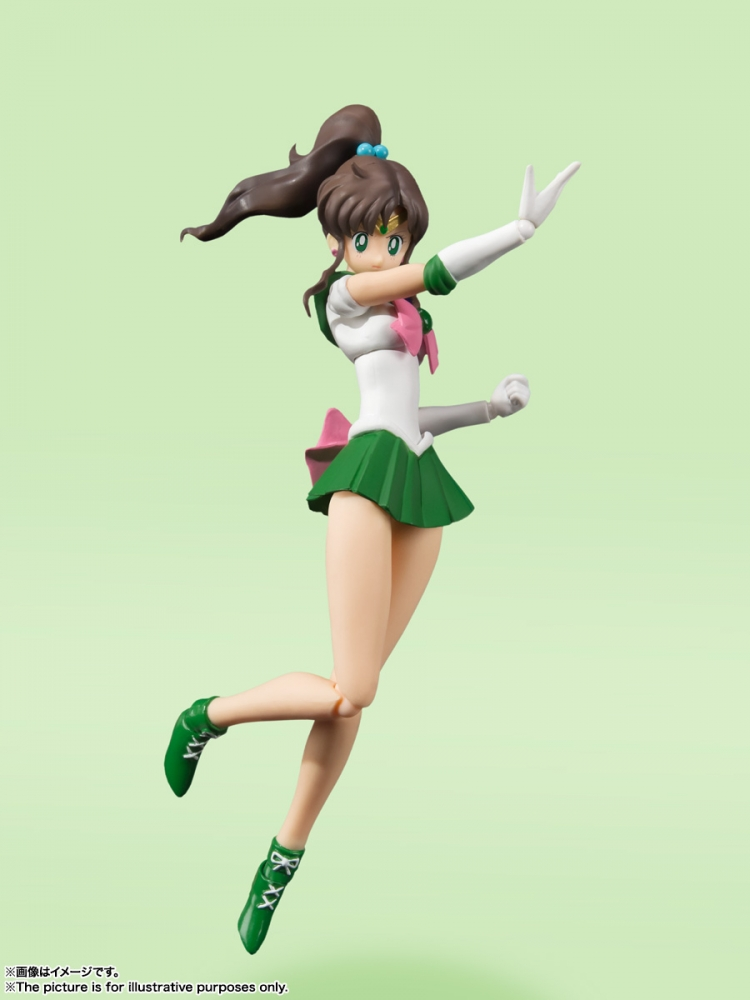 S.H.Figuarts Sailor Jupiter -Animation Color Edition- de Sailor Moon - Tamashii Nations