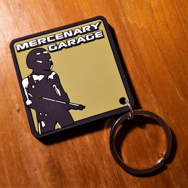 Mercenary Garage Key Fob