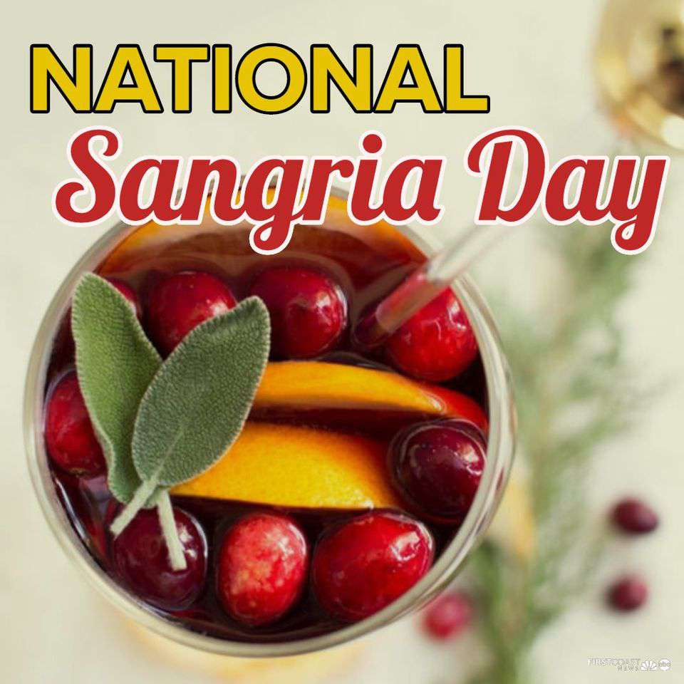 National Sangria Day Wishes Lovely Pics
