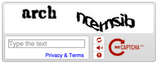 "Are you a robot? Introducing ""No CAPTCHA reCAPTCHA"""