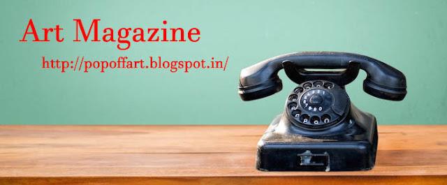 Art Magazine Contact Page