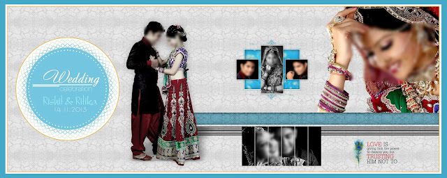 New indian Wedding Album Design Psd Free Download  Size 12x36
