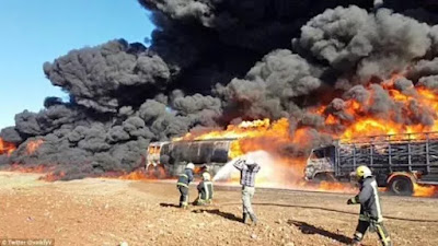 Niger Delta Avengers (NDA hit 3 pipelines, warn there is doom ahead