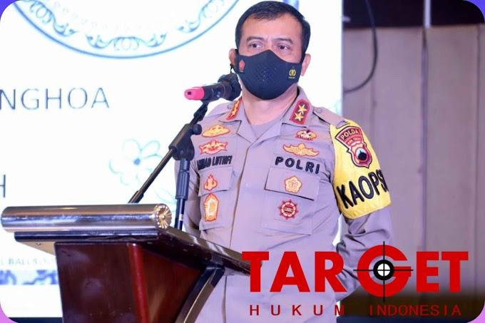 Kapolda Jateng Hadiri Musyawarah Pemilihan Ketua PSMTI Jateng, Kegiatan Digelar dengan Prokes Ketat