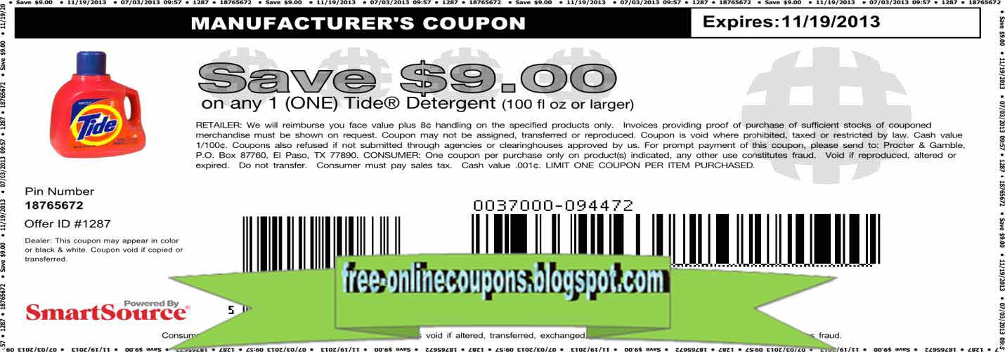 Printable Coupons 2018: Grocery Coupons