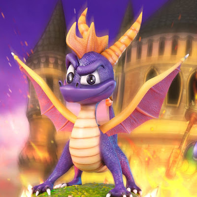 Spyro The Dragon della First 4 Figures