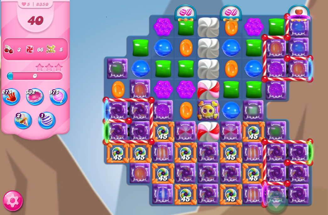Candy Crush Saga level 8350