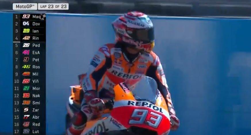 MotoGP 2018 GP Aragon: Marquez vince davanti a Dovizioso e vola verso il titolo mondiale.