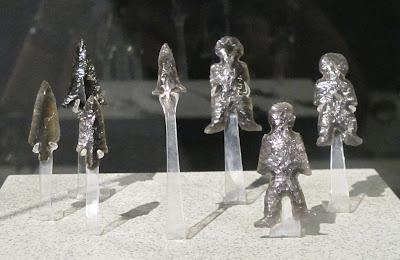 Artefactos de obsidiana de Teotihuacán