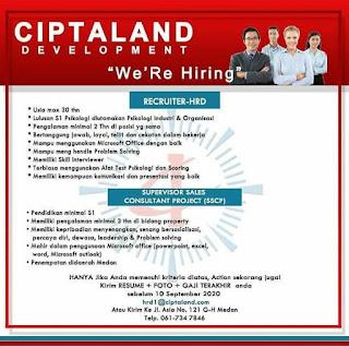 2 Lowongan di Ciptaland Development