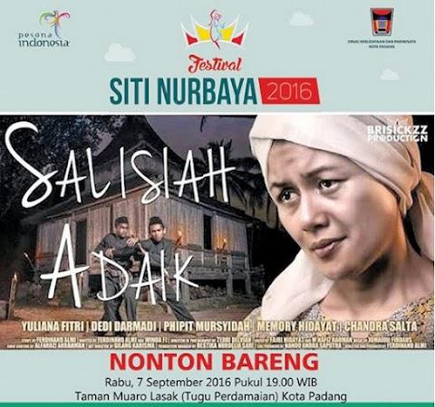 Festival Siti Nurbaya 2016 Menyuguhkan Film Salisiah Adaik