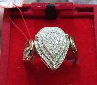 Cincin Berlian Eropa Fashion