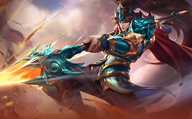 Zilong Son of the Dragon Heroes Fighter Assassin of Skins Old Mobile Legends Wallpaper HD for PC